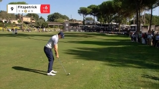 Highlights: Fitzpatrick leads in Italy; Rose, McDowell three back