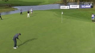 Highlights: Colsaerts grabs lead on Day 2, chasing Euro card in France
