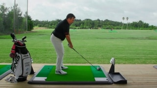 Toptracer Range: How to hit a blind tee shot