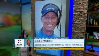 Bones Mackay weighs in on Tiger's historic win at Zozo
