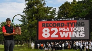 Champion Chats: Tiger ties history with Zozo win