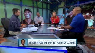 Is Tiger the greatest putter of all time?