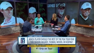 Who should players fear: McIlroy, Thomas, Woods or Koepka?