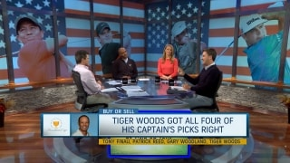 Buy or Sell: Tiger got all four of his captain's picks right