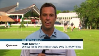 Kuchar on 'good terms' with former caddie 'El Tucan' Ortiz