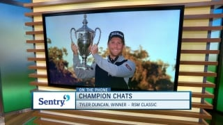Champion Chats: Duncan calls in to talk first PGA Tour victory