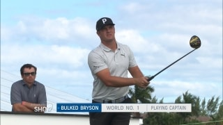 Alternate shot: Bryson bulked up, is it good or bad for his game?