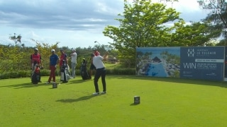 Highlights: Five tied for lead at Mauritus Open