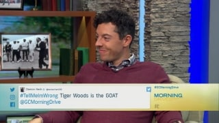 #TellMeImWrong: Does Rory think Tiger's the GOAT?