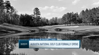 On this date: The formal opening of Augusta National Golf Club