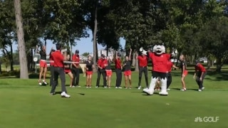 Trick shots from Northern Illinois University