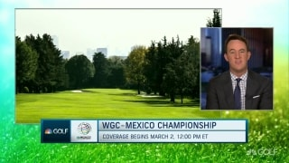Shackelford: Great expectations for course at WGC-Mexico
