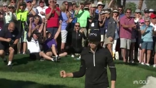 Lindberg drains birdie, wins ANA Inspiration on eighth playoff hole