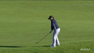 Gallagher-Smith gets 'Hoosier' bounce for tap-in birdie