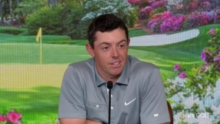 Built for the Masters? Rory comfortable at Augusta National