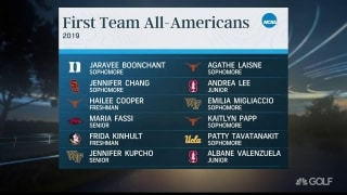 Fassi and Kupcho among the 12 selected for All-American First Team