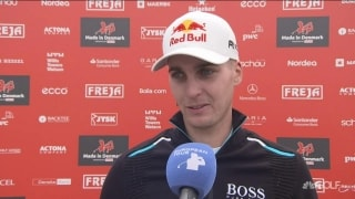 Schwab feeling good after a rainy, windy 66 in Denmark