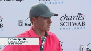 Spieth (70): 'Today was average, yesterday was spectacular'
