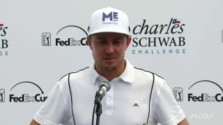 Blixt (64): 'Solid day of golf for me'