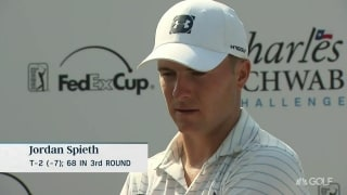 Spieth (68): 'My putting is giving me a chance to win'