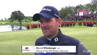 Wiesberger is back in the winner's circle after weekend in Denmark
