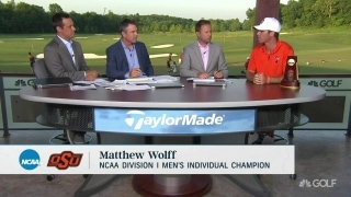 Wolff recaps keys to NCAA individual title win on Golf Central
