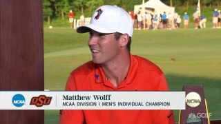 Wolff: 'We are trying to be the best college golf team that has ever lived'