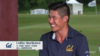 Three-time First-Team All-American Morikawa: 'That's why I stayed all four years'