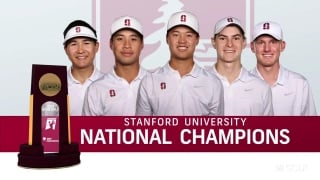 Stanford adds ninth NCAA men's golf title to school history