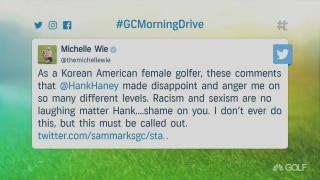Wie calls out Haney for insensitive comments on LPGA