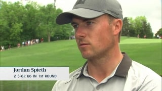 Spieth (66) on finding form: 'Nothing crazy out of the ordinary'