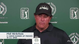 Mickelson will be 'pulling for rain' at Pebble Beach