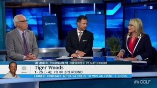 Stupples: 'It is like Tiger is testing himself' to see what he can do