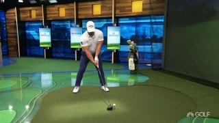 It's all in the footwear: WLD Steenberg hammers one in the simulator