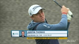 Rust and trust: JT preps for U.S. Open at RBC Canadian Open