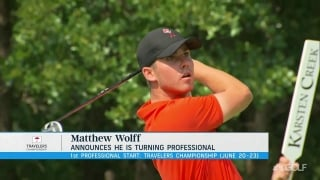 Wolff to make pro debut at Travelers, one of six Tour invites
