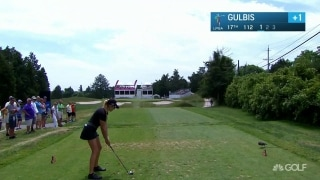 Denied by the flagstick: Gulbis flirts with an ace at the ShopRite LPGA Classic