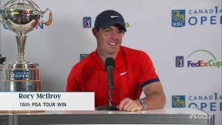 Rory's lucky loonie: 'Might have to cross the border'