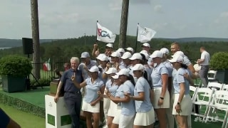 Highlights: International team wins Arnold Palmer Cup