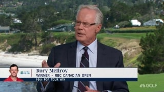 Rolfing on Rory: 'Doesn't know Pebble Beach that well'