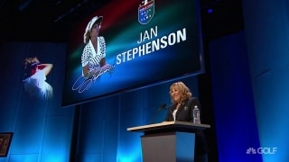 Stephenson thankful for 'wonderful journey golf has taken me on'