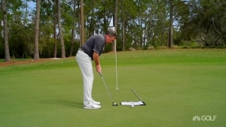 Solved in :60: Lower your score with flagstick backboard drill