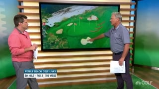 Breaking down Pebble's par 3s: Nos. 5 and 7