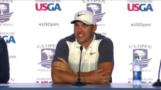 Koepka not thinking 3-peat, but does know about Willie Anderson