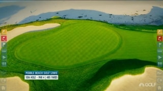 Pebble Beach: Breaking down seaside hole No. 10