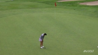 Two-putt, no need: Kupcho drains 30-footer for birdie
