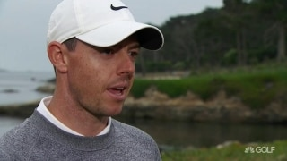 McIlroy (69): 'It's getting tricky out there' as Pebble firms