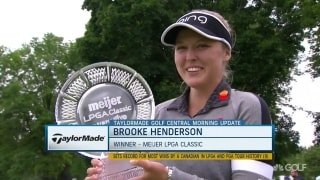 Henderson makes history with win at Meijer LPGA Classic
