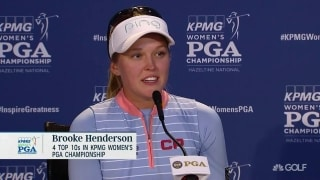 Henderson inspired by sister to play golf