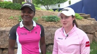 Young LPGA pros inspired by KPMG Women's Leadership Summit